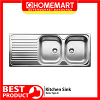 Kitchen SInk Stainless Steel Blanco Tipo 8S