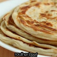 Jual Frozen Plain Paratha / Roti Cane with Daal Curry or Potato Curry Murah