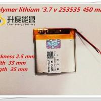 Harga baterai hp aiek mini 3 7v 450mah baterai ponsel kartu kredit | antitipu.com