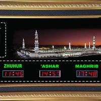 jadwal Sholat Digital Jam Digital Sholat. Bisa diganti Nama masjid.