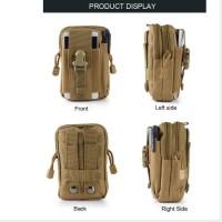 Dompet Handphone Army / Tas Pinggang Tactical Army