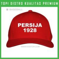 Topi Persija 09 Trucker Baseball Snapback CCC77 Distro