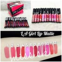 Jual LA Girl Lip Matte ( Flat finish pigment lips gloss ) Diskon Murah