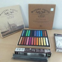 master pastel 24 color (hair chalk)