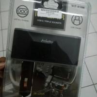 Car Charger Lighter 1 USB 3 Socket Charger - Best Quali Diskon