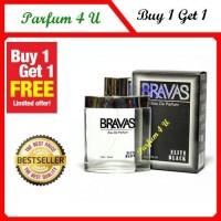 BUY 1 GET 1 Original Parfum Bravas Elite Black & Blue10 Murah