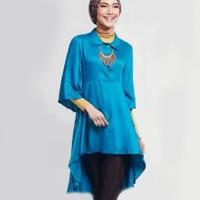 Baju Muslim Syari Wanita Hijab [Tunik Zoya Top SW] tunik wanita rayon