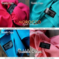 Jual Pashmina Bubble Crepe Termurah 75x200cm | Morocco Hijab Jilbab Murah