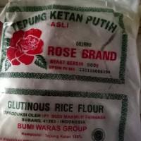 Tepung Beras Ketan Rose Brand 500gr per dus