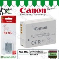 Battery Canon NB-10L (Canon PowerShot SX40 HS, SX50 HS, G15, G16)