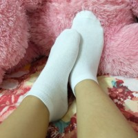 Jual [1 Lusin ] Ankle Socks Putih Kaos Kaki Pendek Non Jempol Putih Murah