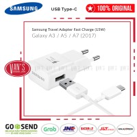Harga samsung 100 original travel charger galaxy a3 a5 a7 2017 pack | antitipu.com