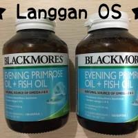 Jual Blackmores Evening Primrose Oil + Fish Oil isi 100 kapsul Murah