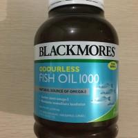 Jual Blackmores  Odourless Fish Oil 1000 isi 400 Murah