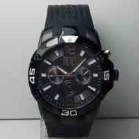 Jam Tangan Pria Cerruti 1881 CRA062F224H Multifunction Black Rubber