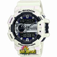 Jam Tangan Pria Casio G-Shock GBA 400 7CDR GMIX Bluetooth Smart Resin 1de4876ab6