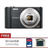 Sony Cybershot W 810 DSC W810 Free SD 8Gb & Tas