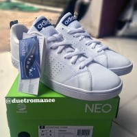 Adidas Originals Neo Advantage White List Navy Sneakers Shoes