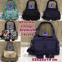 Kipling Fairfax Handbag Tas Wanita/Kerja 2 Fungsi Premium