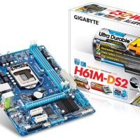 MOTHERBOARD GIGABYTE GA-H61M-DS2 ( H61, 2X DDR3, VGA,1155 PARALEL PORT