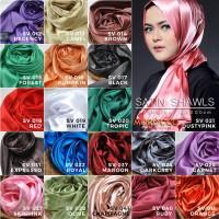 Jual jilbab pasmina satin silk moroco hijab Murah