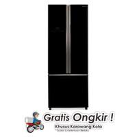 Hitachi Lemari Es R-WB48PGD2-GBK Hitam  ( Khusus Karawang )