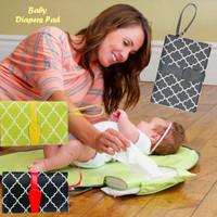 Baby Diapers Pad (Alas ganti popok bayi bentuk clutch)