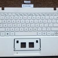Keyboard Asus x200 X200MA x200ca Plus Frame White Original Like New