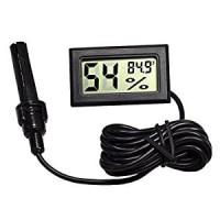 Thermometer Hygrometer digital termometer suhu dan kelembaban ruangan