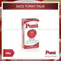 Jual SAUS / Saos Tomat Italia - Pomi Strained Tomatoes 500g Murah