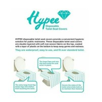 Hypee Disposable Toilet Seat Covers 5pcs