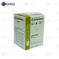 Jual MAQ Strip Tes Asam Urat Darah AUTOCHECK/AUTOCHECK Blood Uric Acid Test Murah