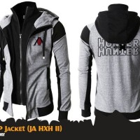 Jaket Anime Hunter X Hunter SP Double Zippers Hoodie (JA HXH 11)