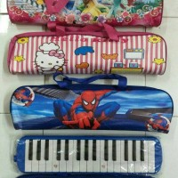 Jual Pianika plus cover karakter Murah