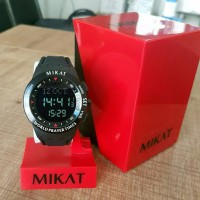 Mikat Digital Sport Black 01/ Waktu Sholat/ Penunjuk Qiblat/ Jam Turky