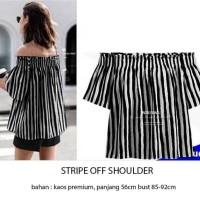 sabrina blouse atasan baju wanita kekinian korea model terkini terbaru