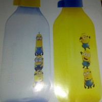Jual Botol Minion Tupperware uk.500ml 2 bh Murah