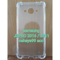 case anti crack Fiber samsung J3PRO 2016 /J3110 /anticrack knock shock