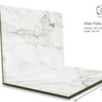 Jual Alas Foto Lipat Marble 42x30 cm / Background Foto marmer (ML-01) Murah