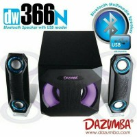 Jual Speaker Aktif Bluetooth Dazumba DW366N with Bass n Treble Control Murah