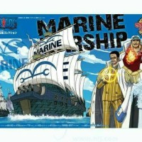 Bandai Mokit One Piece The Navy Warship Grand Ship Collection