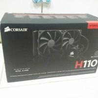 Jual Corsair H110 CPU Water Cooling, Cuma Buka Kotak, Kegedean di Mini ITX Murah