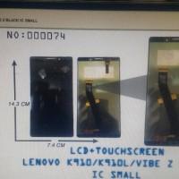 Jual Lcd + t.s Lenovo K910/K910L/Vibe Z black Murah