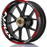 stiker velg motor wheel sticker yamaha Nmax 155 v2 ring 13