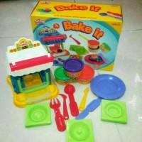 Jual Mainan Anak Edukasi - Pasir Lilin Fun Doh - Play Doh Bake It Murah