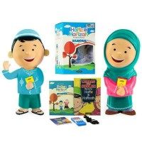 Jual Boneka ngaji Hafizah Bilingual Talking Doll MURAH - Hijau Orange Murah