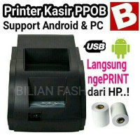 Printer Kasir 58mm Android / ATM USB PPOB CASH DRAWER