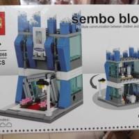 Lego Bricks KW merk Sembo tema Samsung Center/bagus murah kw cina