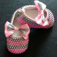Jual sepatu bayi mutiara prewalker anak perempuan lucu Murah