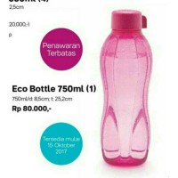 Jual Tupperware Eco Bottle 750 ml/tupperware botol uk.750 ml Murah